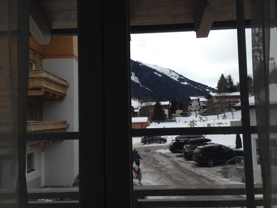 Landhotel Oberdanner: view out of the window