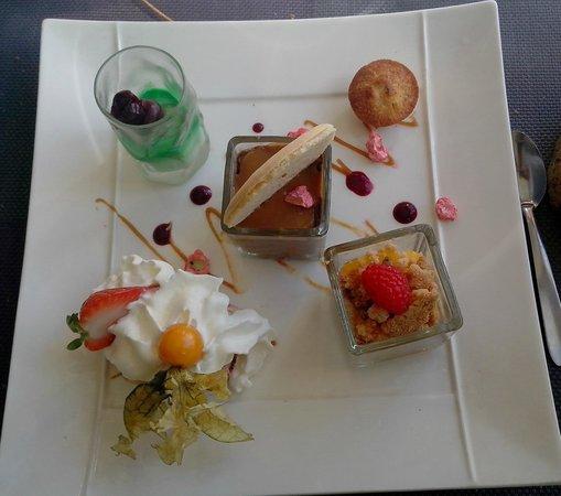 Le Vigosche : assiette gourmande