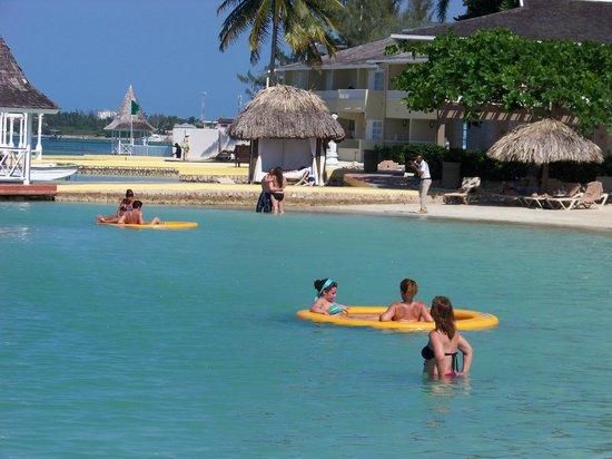 57de698a67165d Sandals Royal Caribbean Resort and Private Island  New floats off main beach