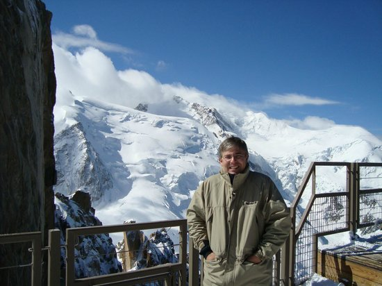 Aiguille du Midi: Vista no mirante