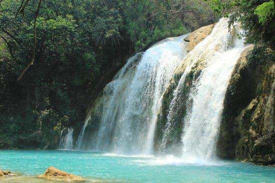 Cascada El Chiflon: Крыло ангела