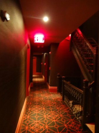 Sanctuary Hotel New York : couloir