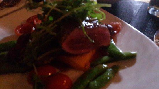 Windtown Lagoon Hotel: Ostrich Steak.