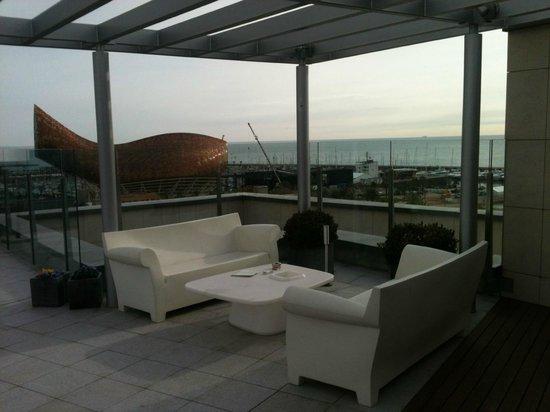 Pullman Barcelona Skipper: terrasse