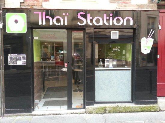 Thai Station: restaurant vu de l'exterieur