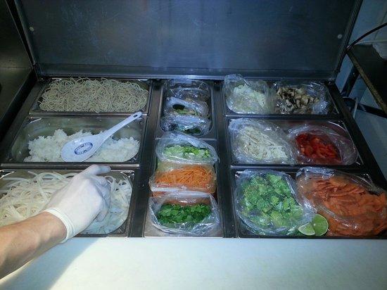 Thai Station: Les légumes du jour