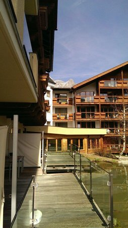 Hotel Der Krallerhof : Mountainview