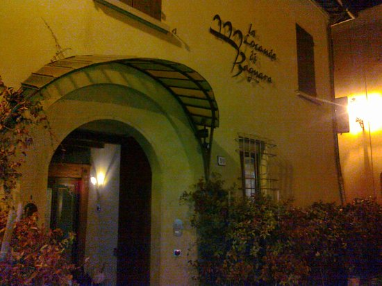 La Locanda Bagnara: ingresso esterno