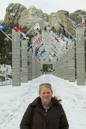 Mount Rushmore National Memorial : All 50 States represented
