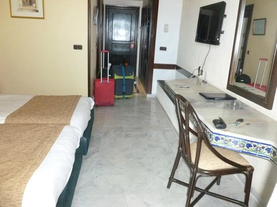 Marhaba Palace Hotel: Our room overlooking the sea.