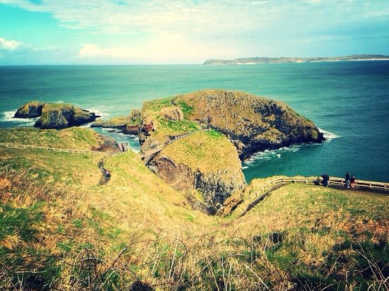 Carrick-A-Rede Rope Bridge: The views
