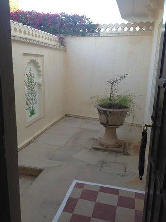 The Oberoi Udaivilas: Room Verandah View #1