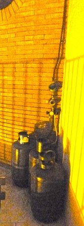 B&B Globetrotter Siracusa: Terrazza: bombole