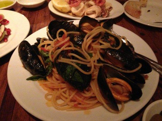 Bocca di Lupo : Mussels Spaghetti