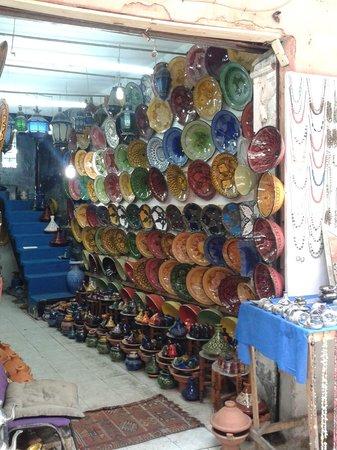 Hotel Almas : Pottery Stall