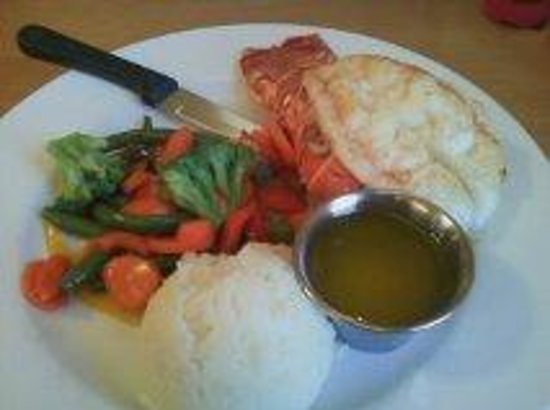 Adobe Springs Cafe: LOBSTER!!
