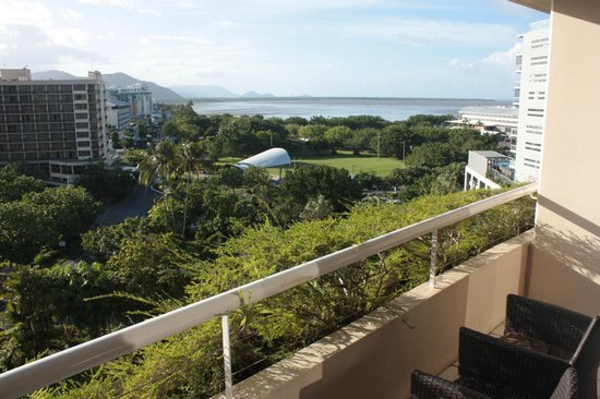Hilton Cairns: View from Balcony