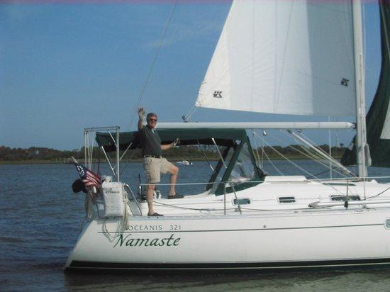Sailing The Edge Of America - Folly Beach : Sail Aboard Namaste