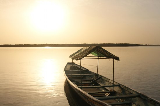 Le Bazouk du saloum : Coucher de soleil