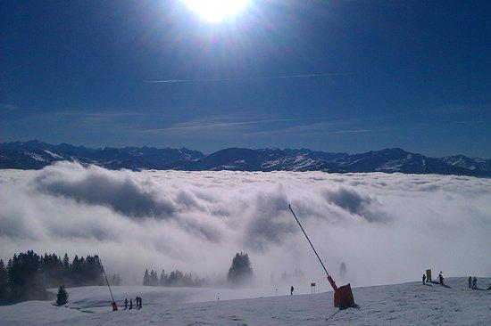 Holzl Pension: über den Wolken