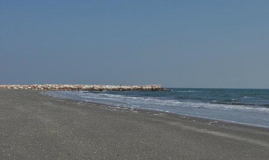 L'isola di Pellestrina (Ve) – spiaggia sul mare Adriatico