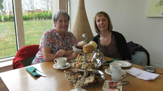 The Elms: Sedate afternoon tea
