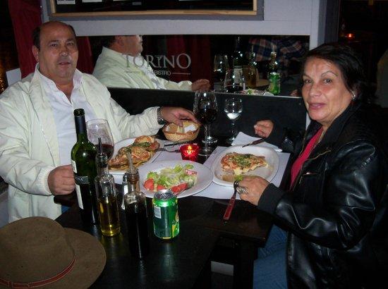 Torino Bar Bistro: celebrando el cumpleaños de mi mujer