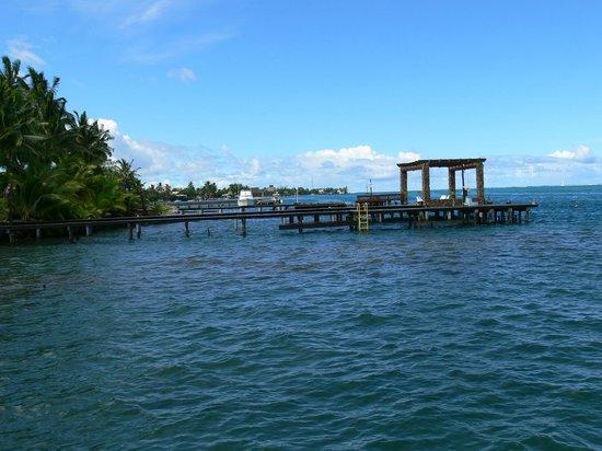 Manava Suite Resort Tahiti : Vue de la piscine