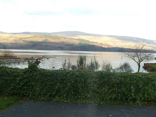 The Inn on Loch Lomond : View from our room