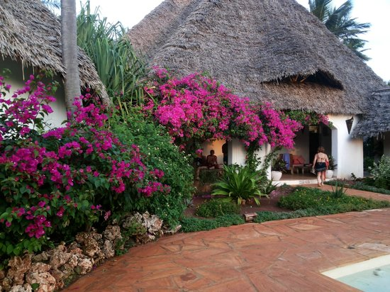 Villa Kiva Resort and Restaurant: appena entri ..... ti avvolgono profumi e fiori