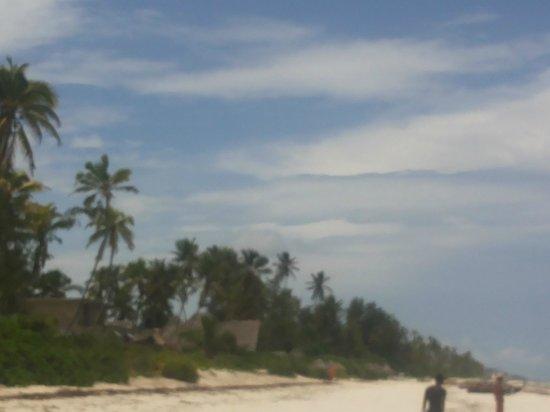 Villa Kiva Resort and Restaurant : spiaggia di fronte l'Hotel