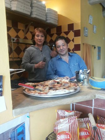 Pizza Brun : Colette & Mr brun