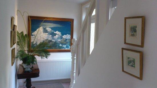 Birds Bed & Breakfast: The guests stairway.