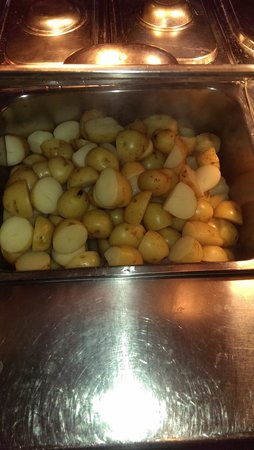 West Walton, UK: new potatoes yummnmmmm