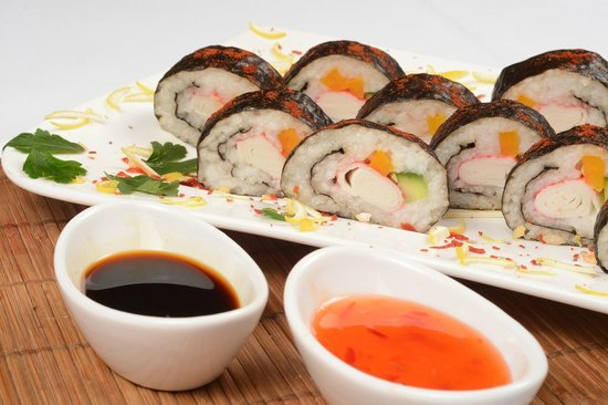 Kutno, Πολωνία: A special request for our guests: sushi