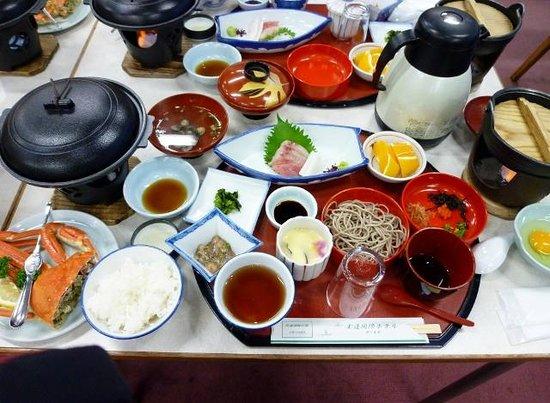 Tamatsukuri International Hotel: 夕食