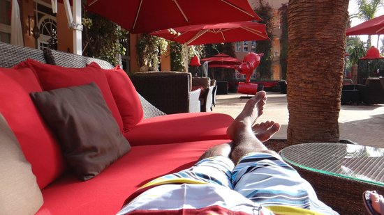 Sofitel Marrakech Lounge and Spa : piscine