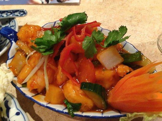 Sang Thai: Sweet and Sour Prawns