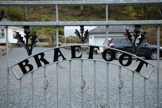 Braefoot Cottage B&B : Welcome to Braefoot