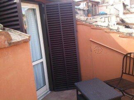 Hotel Modigliani: Roof terrace