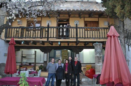 Restaurante Marqués de Cruilles: Gracias amigos por hacérnoslo pasar tan bien.