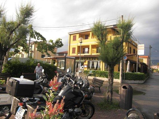 Maison del Magra : Hauptfront Restaurant