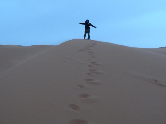 Merzouga, Marocko: Freedom in the Dunes