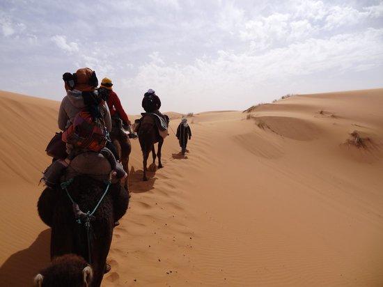 Merzouga, Maroko: Venturing into the Desert