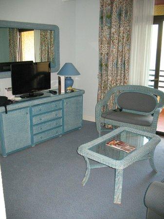 Melia Costa del Sol: Living area took a single bed