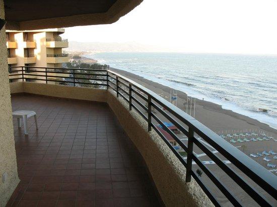 Melia Costa del Sol: Spacious balcony