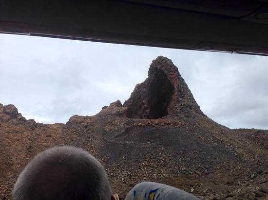 Timanfaya National Park : volcano vent