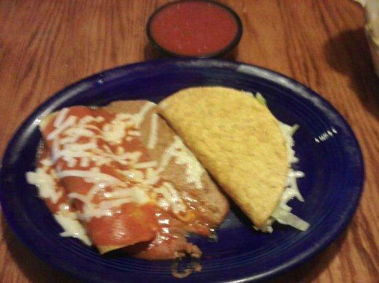 El Potrero: Speedy Gonzalas Lunch (under $5.)