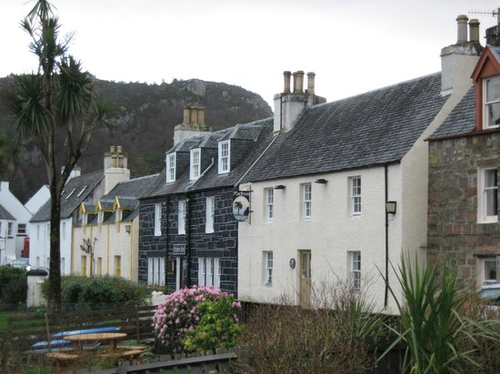 View of The Plockton Hotel