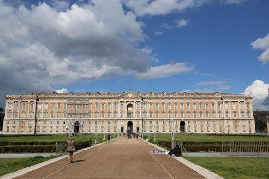 The Royal Palace at Caserta: Вид